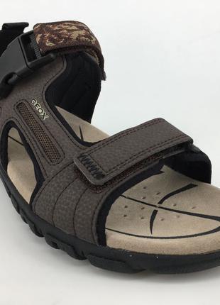 Мужские сандалии Geox 42 U S. STRADA A - DBK U8224A 42 оригинал