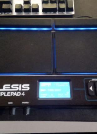 Alesis sample pad 4 + SD карта (sampepad)