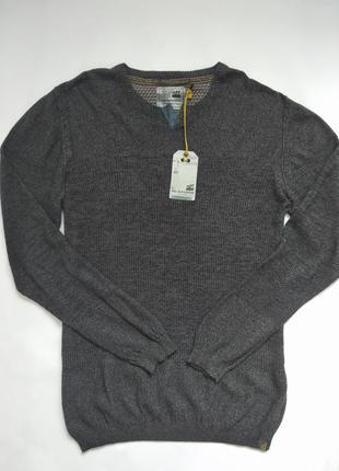 Стильный мужской свитер размер л