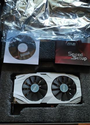 ASUS GeForce GTX1060 3GB, 192bit, DDR5