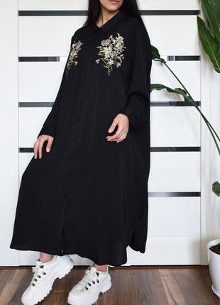 Платье с вышивкой (новое, с биркой)  velvet pop