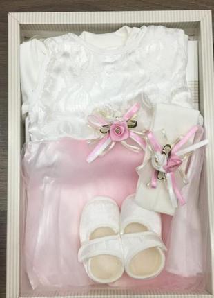 Костюм комплект для новорожденных цвета в ассортименте