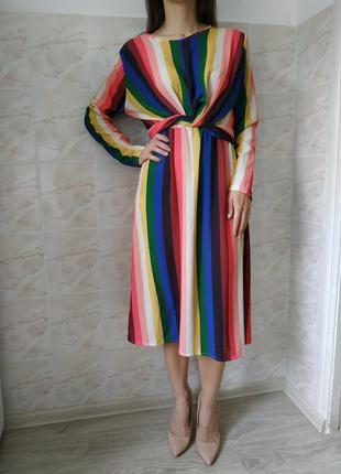 Женское платье, женский сарафан, модное платье , платье миди