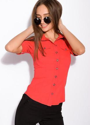 Рубашка женская с классическим воротником 118p005-2