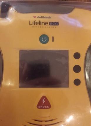 Портативный, переносной, Дефибриллятор LifeLine ECG, Америка
