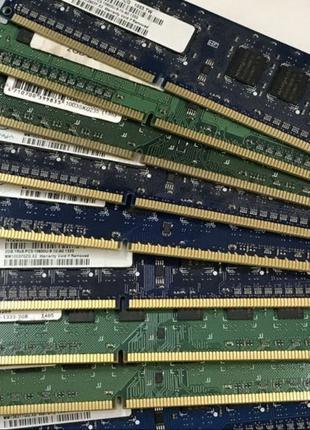 Оперативная память для ПК 4Gb DDR3 PC3 12800 1600MHz 1R бу int...