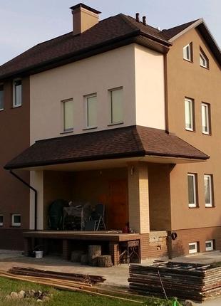 Фасадные работы, утепление фасада по Киеву и области