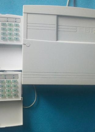 Охранная сигнализация Орион 16 2клавиатуры. Датчики Кнопка Сир...
