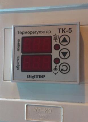 Терморегулятор. Реле времени. Контактор.