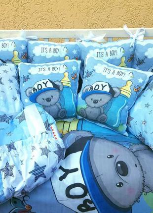 Детское постельное белье в кроватку ТМ Bonna Принт