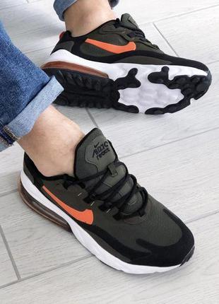 Nike air max мужские кроссовки зеленые, мужская обувь найк аир...