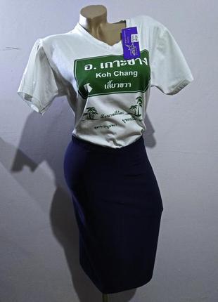 Блуза женская топ жіноча блузка футболка m l 46 48 рубашка сор...