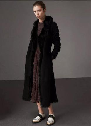 Дубленка пальто тренч натуральная кожа замш мех 44 s 42 xs 46 ...