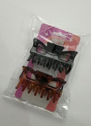 Профессиональный зажим для волос укладки стрижки заколка краби...