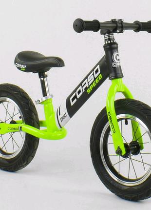 Беговел детский Corso Велобег надувные колеса