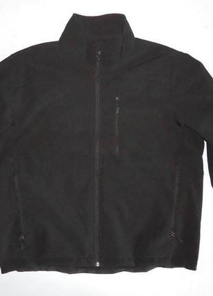 Куртка kirkland softshel софтшел черная (xl)
