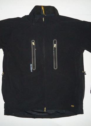 Куртка animal черная для активного отдыха (xl)