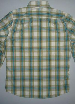 Рубашка hollister california в клетку размер (l)