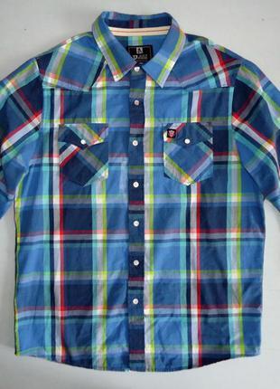 Рубашка d555 клетка (xl)