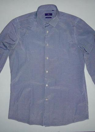 Рубашка next slim fit (l-42)