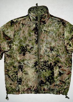 Термокуртка mil-tec двухсторонняя flecktarn olive милитари (m-l)