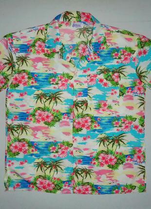 Рубашка wicked costumes гавайская (l-xl)