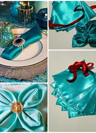 Супер подарок набор салфеток для сервировки стола праздник, де...