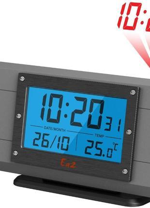 Проекционные часы с внутренним термометром EA2 OP305 Optimus