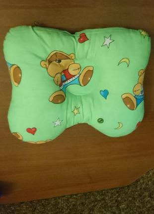 Подушка для малышей бабочка