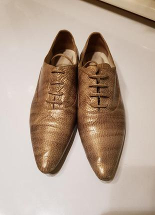 Туфли fellini натуральная кожа