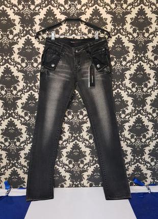 Новые джинсы + кожа!