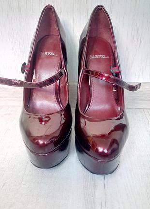 Туфли carvela каблук 14 см