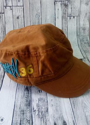 Крутая кепка для мальчика подростка на голову 55 см 11-14 лет