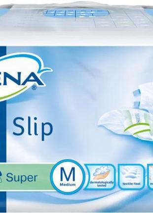 Подгузники для взрослых Tena Slip Super Medium 7 капель 73-122...