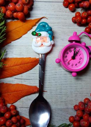 Чайная ложка  для детей оригинальный подарок ручная работа дед...