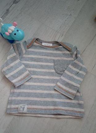 Милый реглан футболка джемпер на 3-6 мес. на вес 6 кг