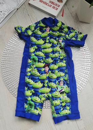 Крутой яркий купальный костюм , купальник на мальчика 9-12 мес...