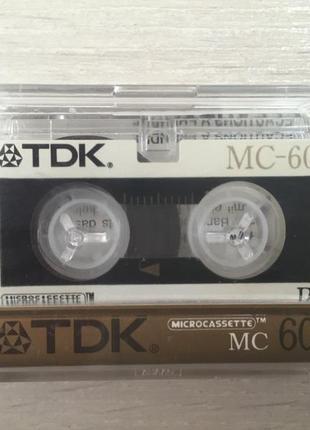 Микрокассета TDK МС 60 (новая)