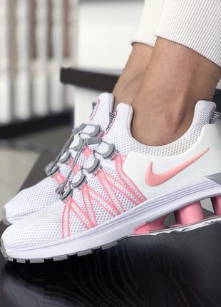 Модные женские кроссовки Найк Nike, белые, черные, розовые, 36-40