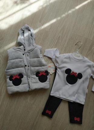 Детский костюм 3ка для новорожденных
