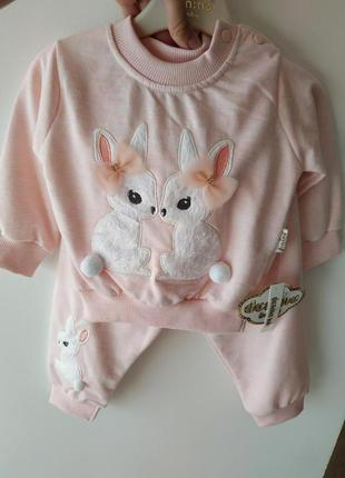 Детский костюм 2ка для новорожденных