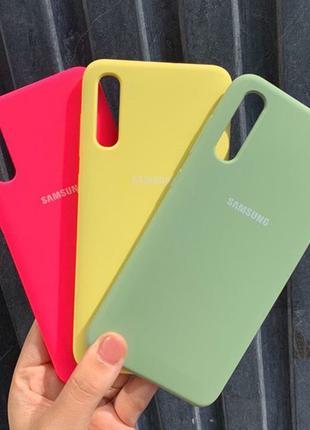 Чехол силиконовый Samsung A10, A20, A30, A40, A70, M20, M30