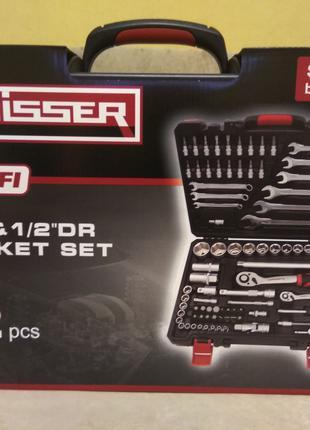 Новый набор инструментов Haisser 82 предмета. Ключи трещотки