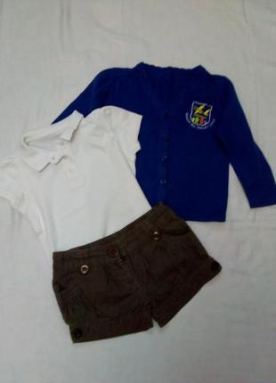 Пакет одежды для девочки на 3- 5 лет