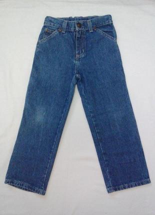 Качественные джинсы для мальчика на 6 лет