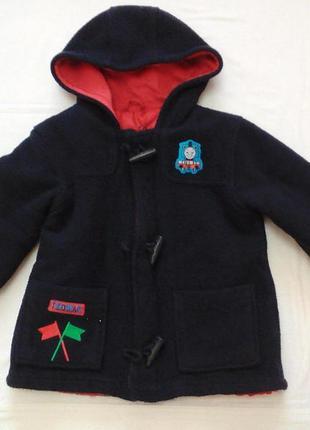 Пальто m&s на р 92-98 см 2-3 года