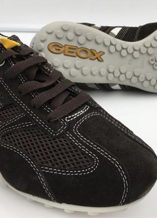 Мужские замшевые кроссовки Geox 42