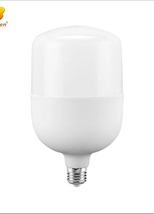 Лампа светодиодная 50 Вт. Свет холодный белый 6000-6500К.