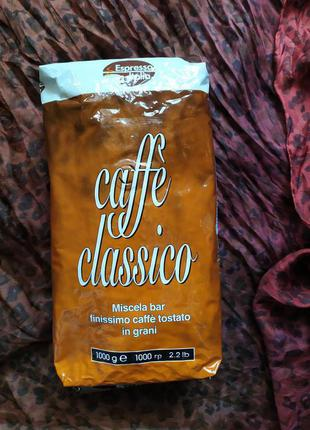 Espresso Italia Caffe Classico кофе в зёрнах 1 кг