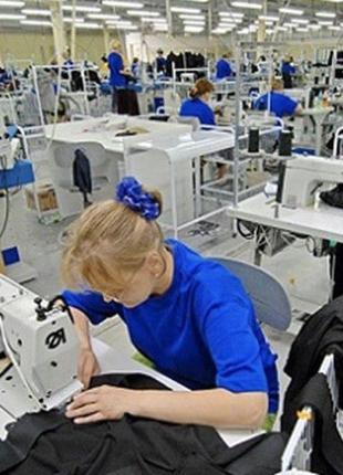 Швейная фабрика возьмет заказ на пошив